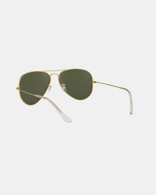 RaBan - Aviator Classic RB3025 - Sunglasses (Solid Colour Green)