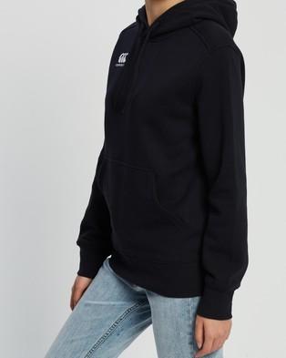Canterbury - Overhead Logo Hoodie Hoodies (Black)