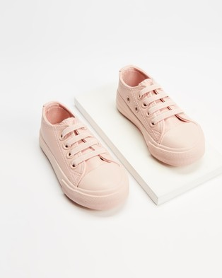 Cotton On Baby - Mini Classic Trainers Babies Kids Slip-On Sneakers (Peach Whip) Babies-Kids