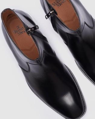 3 Wise Men The Gabriel - Dress Boots (Black)
