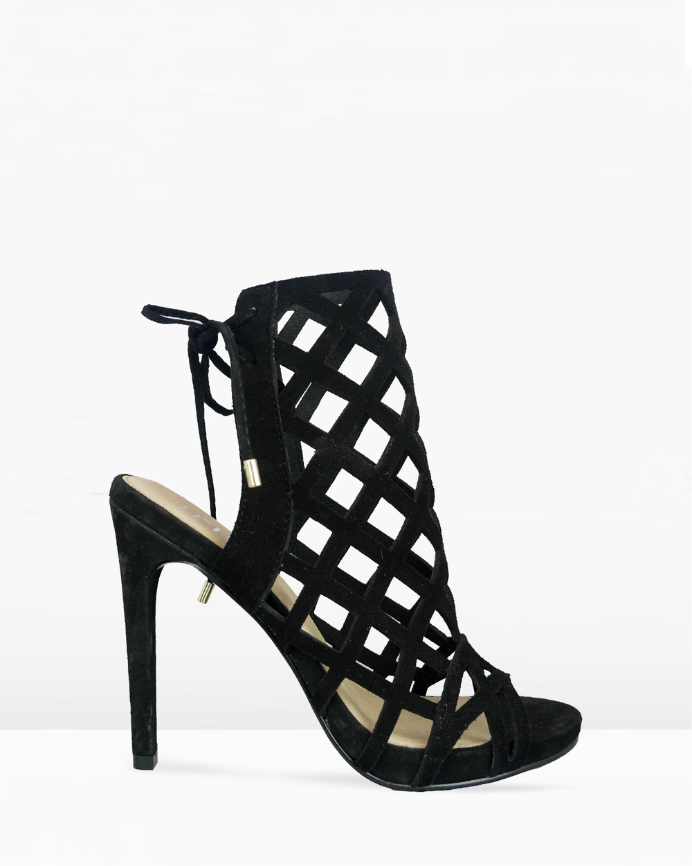 IRIS Footwear Ebony Heels Black Ebony
