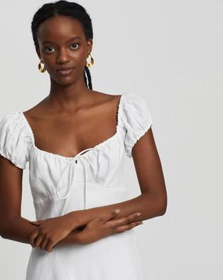 Bec + Bridge Marla Mini Dress - Dresses (White)