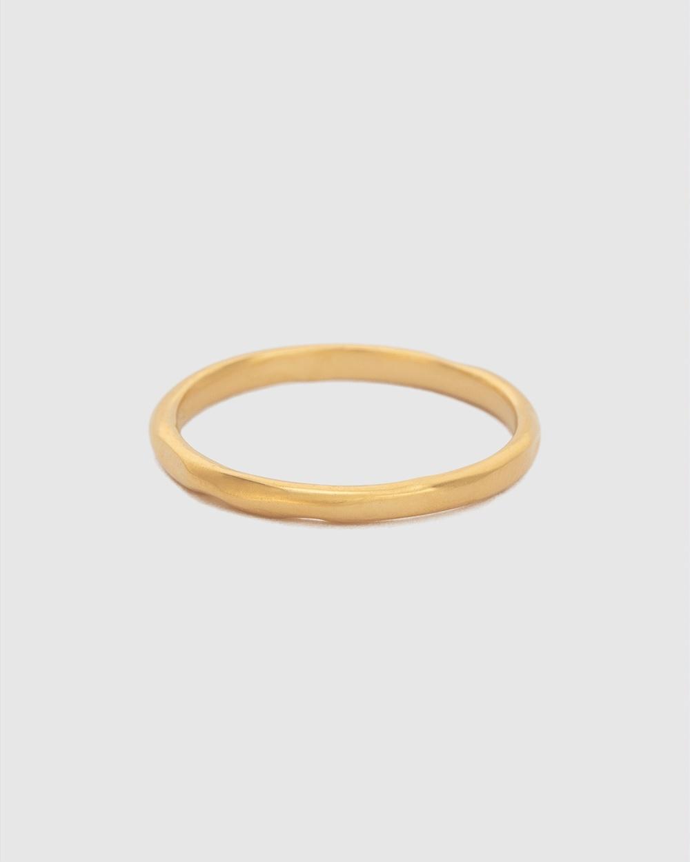 Kirstin Ash Renewal Stacking Ring Jewellery Gold