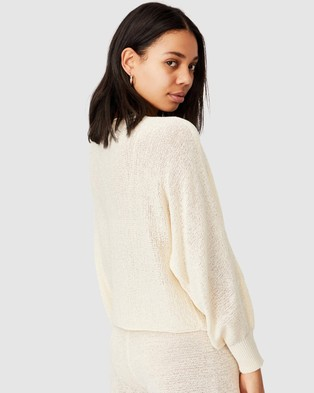 Cotton On Match Me Pullover - Jumpers & Cardigans (Seashell White)