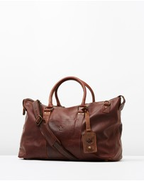 Lyle and Scott - Vintage Leather Holdall