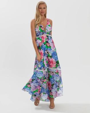 Aqua Blu Australia Blossom Flora Dress - Printed Dresses (Multi)