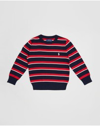 Polo Ralph Lauren - Long Sleeve Stripe Sweater - Kids