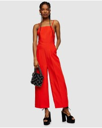TOPSHOP - Strappy Back Jumpsuit