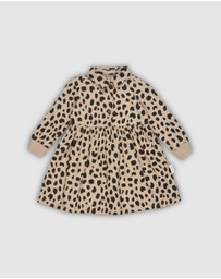 Huxbaby - Animal Spot Shirt Dress - Kids 6-8
