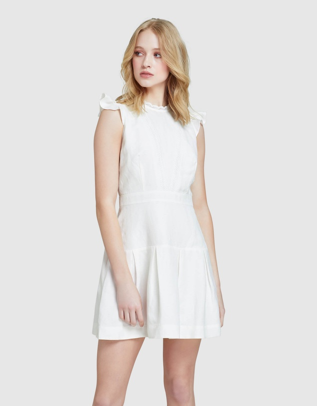 Oxford - Morris Lace Insert Dress