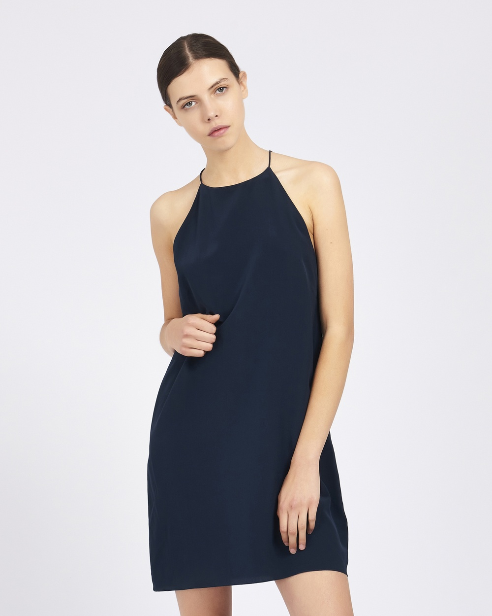 GINIA RTW Ela Dress Dresses Navy Ela Dress