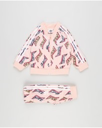adidas Originals - All-Over Print SST Track Suit Set - Kids