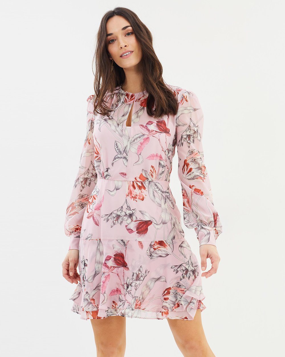59ee38d5836f8 Fontaine Long Sleeve Mini Dress by Cooper St Online