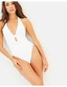 Michael Kors - Cut-Out High Leg One-Piece
