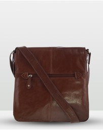 Cobb & Co - Alex Leather Large Satchel