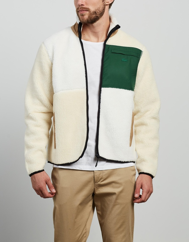Lacoste - L!Ve Polar Zip Front Sweat