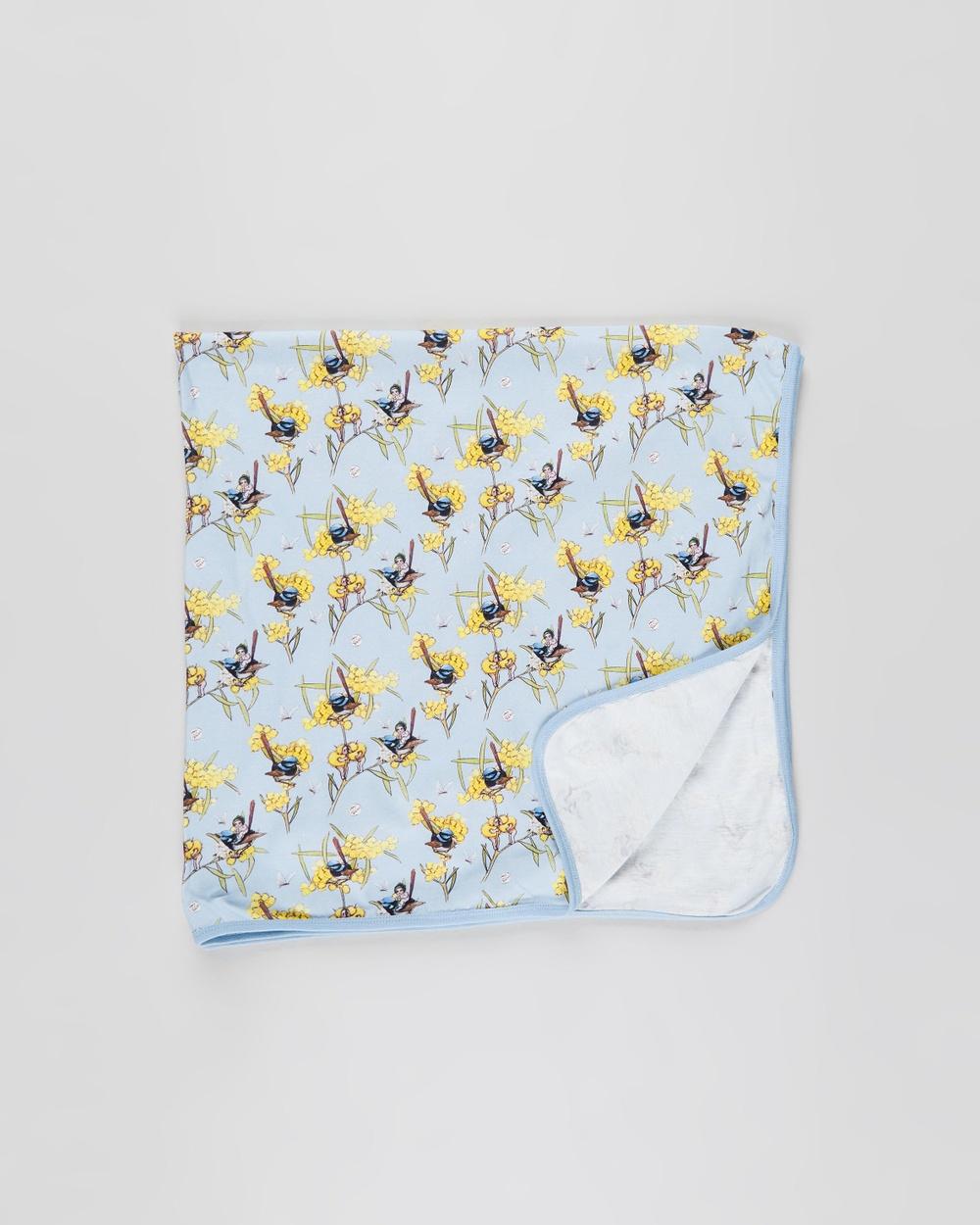 Walnut Melbourne May Gibbs Billy Blanket Wraps & Blankets Morning Wren