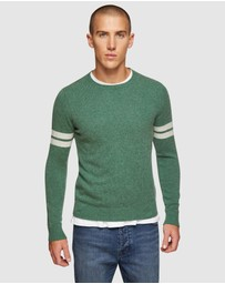 Oxford - Hartlet Stripe Sleeve Knit