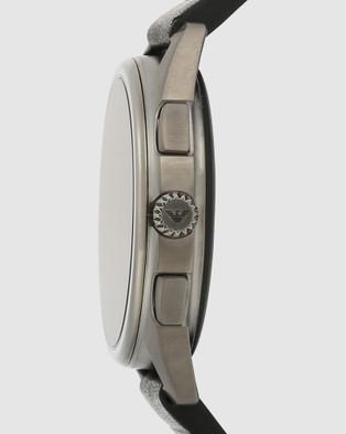 Emporio Armani Black Men's Digital Watch - Smart Watches (Black)