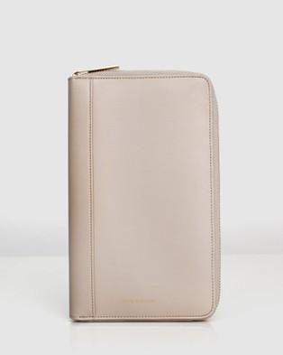 Belle & Bloom Wilona Leather Organiser - Wallets (Nude)