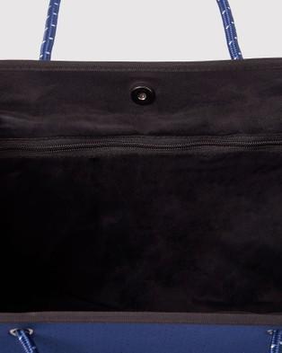 Miz Casa and Co Ivy Neoprene Tote Bag - Bags (Navy Blue)