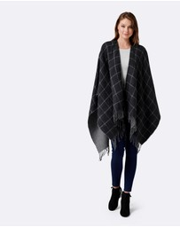 Forever New - Danni Double Sided Check Cape