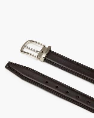 Aquila - Colton Belt Belts (Chocolate)