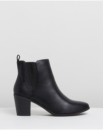 SPURR - ICONIC EXCLUSIVE - Heather Ankle Boots