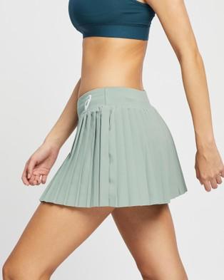 ASICS Match Pleats Skort Women's Skirts Slate Grey