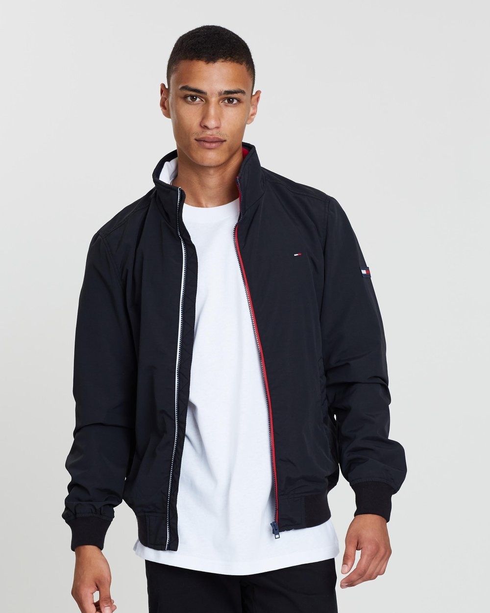 568b11c1 Essential Casual Bomber Jacket by Tommy Jeans Online   THE ICONIC    Australia