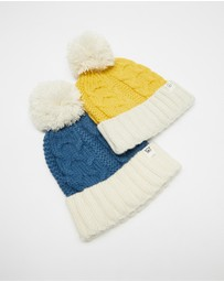 Cotton On Kids - Winter Knit Beanie 2-Pack - Kids