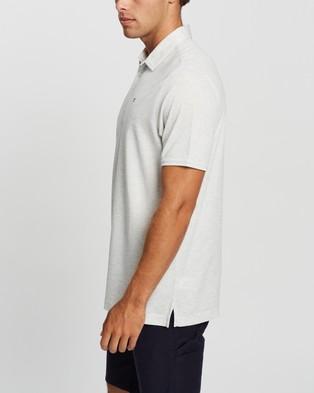 TravisMathew Classy Golf Polo Shirt - Shirts & Polos (Heather White)