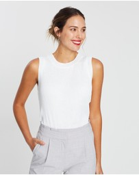 Forcast - Nelly Pleated Top