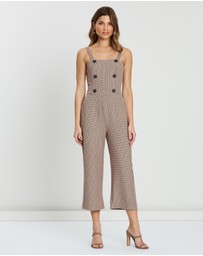 Atmos&Here - Lauren Check Jumpsuit