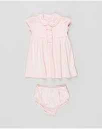 Polo Ralph Lauren - Ruffled Dress & Bloomer Set - Babies