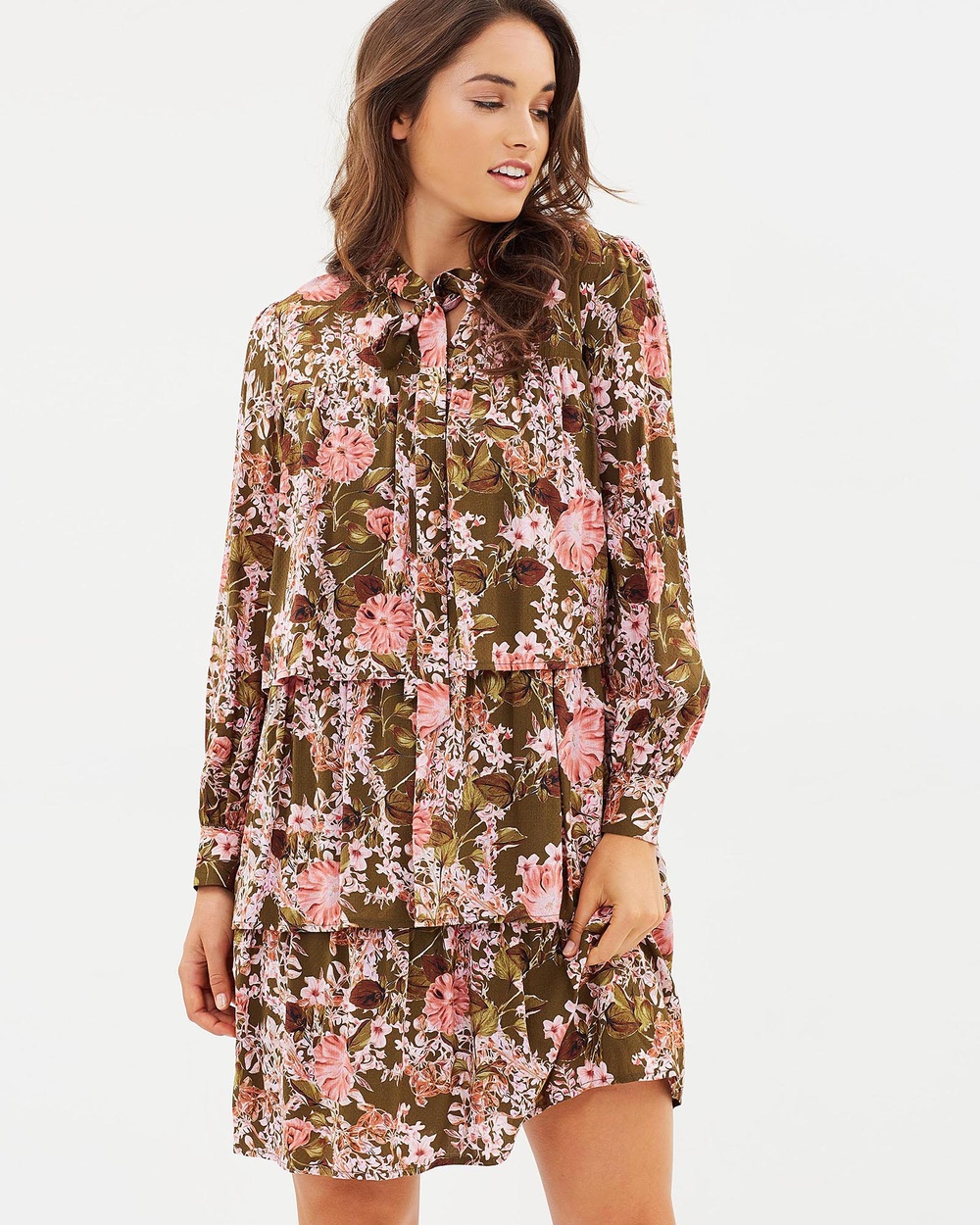 Jag Peggy Printed Dress Dresses multi Peggy Printed Dress