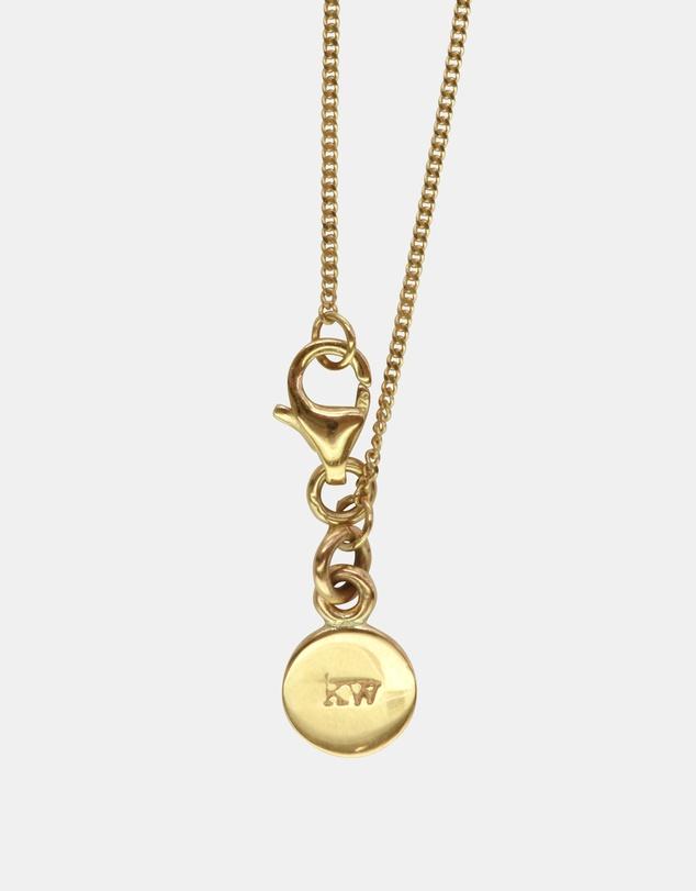 Women M Initial Love Letter Necklace