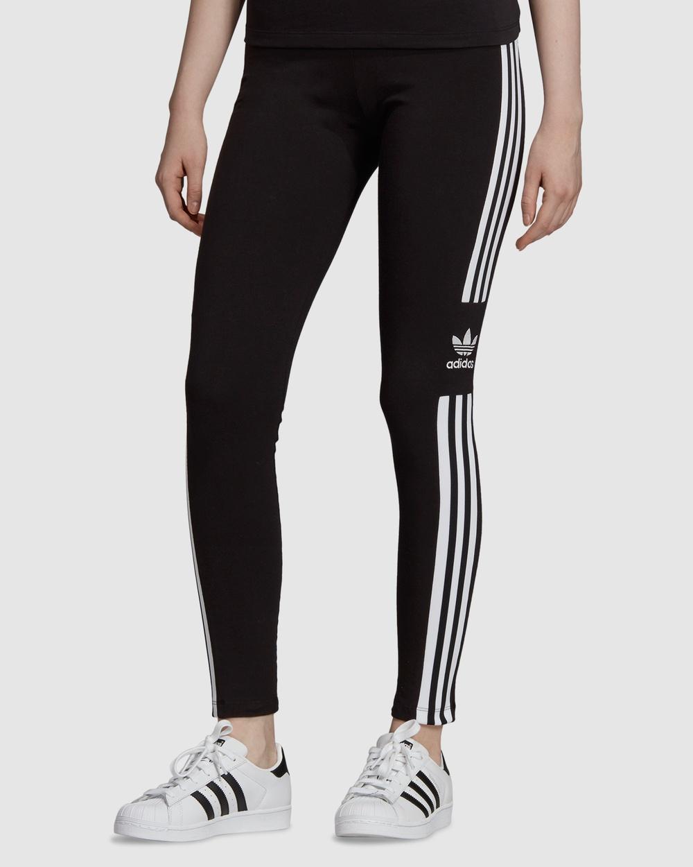 adidas Originals LOUNGEWEAR Trefoil Tights Sports Black