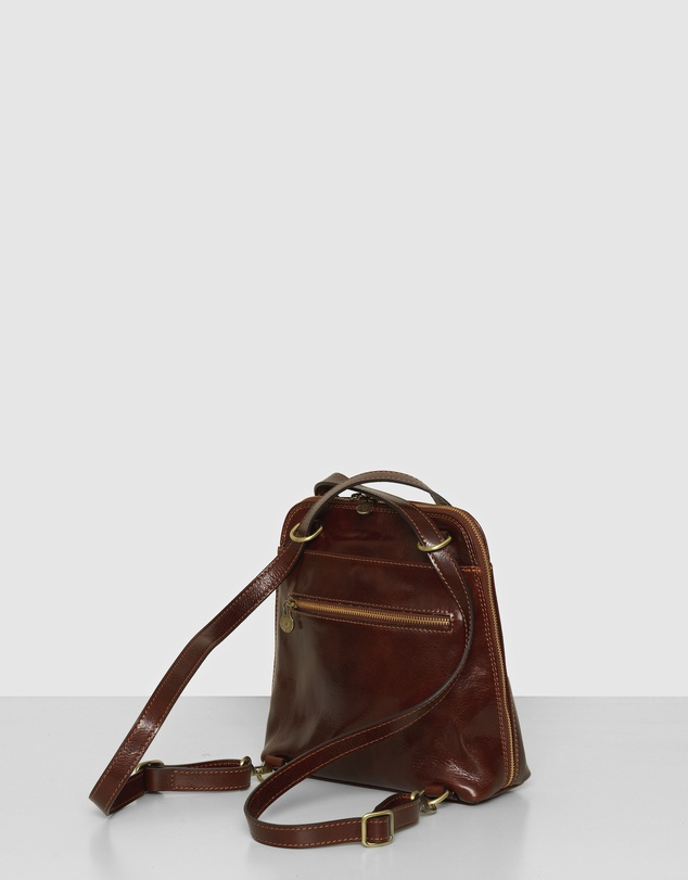 Women The Ruby Brown Backpack