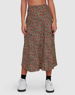 RVCA Annika Skirt - Skirts (SUNWASH)