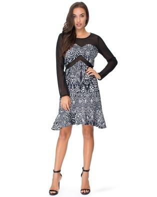 Honey and Beau – Fifi Dress – Dresses (Print)