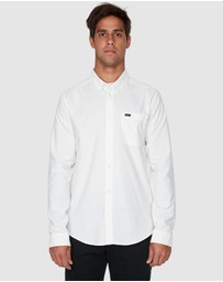 RVCA - Crushed Long Sleeve Shirt