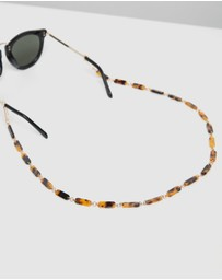 Karen Walker - Rounded Acetate Sunglasses Chain