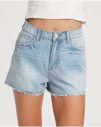 The Fated - Radical Denim Shorts