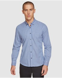 Oxford - Stratton Twill Checked Shirt