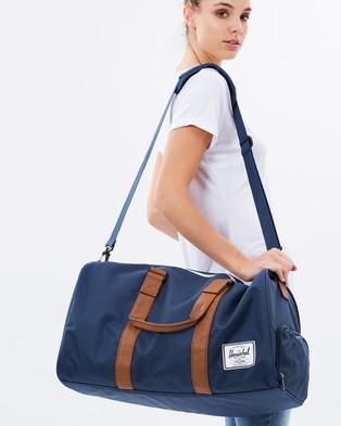 Herschel Novel - Duffle Bags (Navy & Tan)