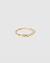 Arms Of Eve - Havana Gold Stacking Ring