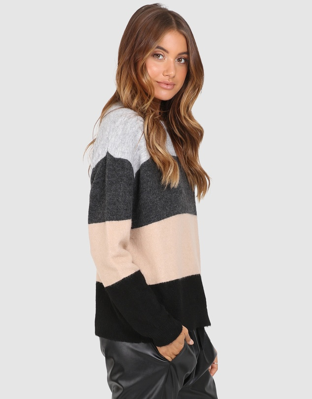 Madison The Label - Virgo 2 Toned Knit