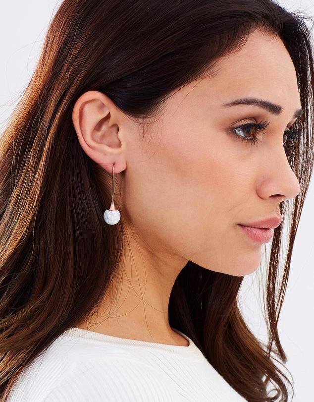Women Marble Earrings