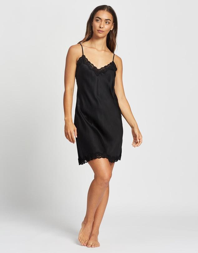 Women Pure Silk Lace Slip